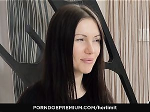 HER confine - tough ass-fuck and face poke with Sasha Rose