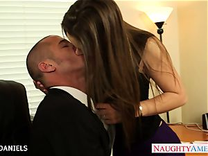 Office honey Dani Daniels take shaft