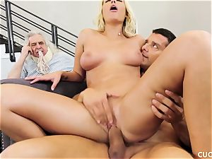 Athena Palomino - My lazy spouse should see how real fellows act