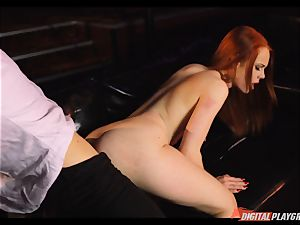 Ella Hughes rides on the monster beef whistle of Danny D
