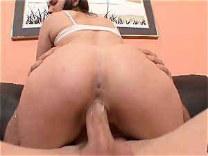 manmeat gasping hotty Tori black coochie packed with rock hard dick