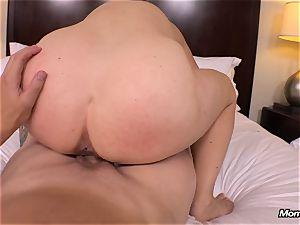 immense congenital boobs mummy gets gonzo plumbing