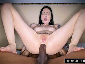 BLACKEDRAW Canadian gf takes yam-sized big black cock in her culo