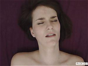 amateur damsel Reaches Her first slit orgasm