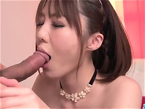 Top Narumi Ayase luvs stud to drill her properly