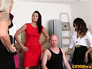 Mean female dom group joy with Kiki Minaj