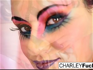 Charley pursue teases you