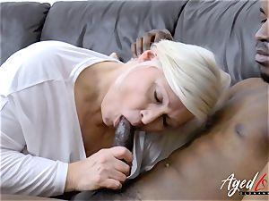 AgedLovE Mature Lacey Starr hardcore blow-job