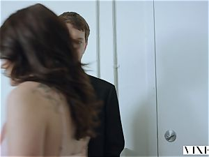 VIXEN Adria Rae Leaves Her Mark On Her boy