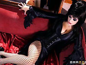 MMF fucking for gothic stunner Katrina Jade