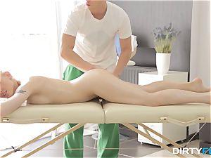 dirty Flix - romp on a folding massage table