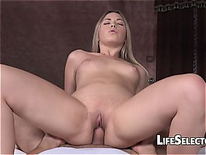 Selvaggia - ultra-cute blonde gets drilled hard (point of view)