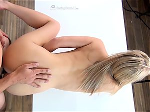 Bailey Brooks humping to get in the pornography idustry