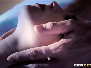 tiny Piper Perri enjoys one last deep banging from her boy