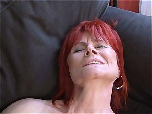 Mature lady bi-racial xxx cootchie fucked gulps