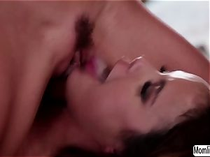 Dillion Harpers scissor lovemaking with stepmom Alexis Fawx