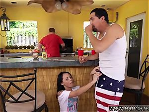 father instructs associate counterpart s daughter lesally ally Holly Hendrix Has Some fun With