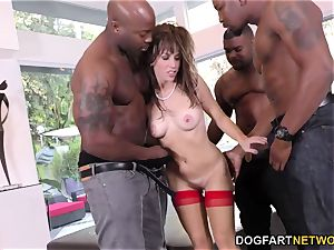 bday gang-fuck with splendid mommy Alana Cruise