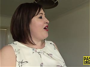 mouth romped milf sub