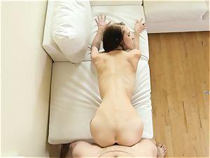 naughty babe Lola Hunter romped deep in her handsome sweet sleek vulva