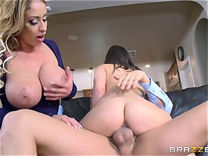 Gia Paige and Eva Notty getting pulverized