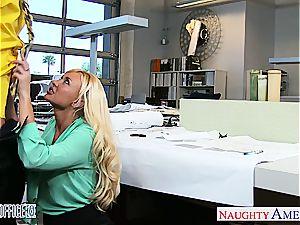 fine office stunner Summer Brielle gets banged