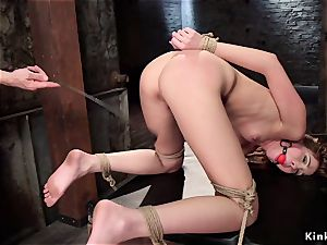 sub student bootie lashed and labia drilled