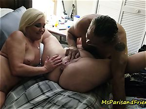 splooging Swingers bang-out with Ms Paris and pals