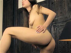 Taylor Sands naked getting off