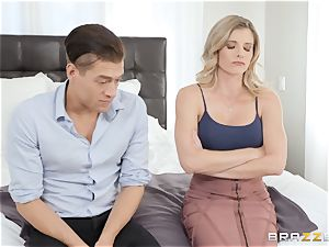 Cory haunt packing a phat rod into her pussy