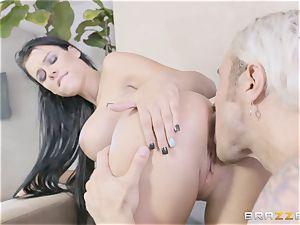 super-fucking-hot sisters Peta Jensen and Megan Rain share their stepbrother