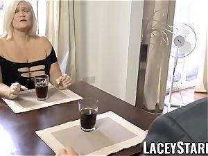 LACEYSTARR - naughtiest grandma analled before cum-shot