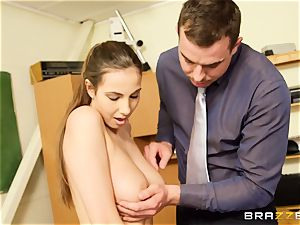 Connie Carter gets some classroom pipe activity