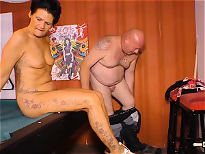 HAUSFRAU FICKEN - molten orgy with nasty German housewife