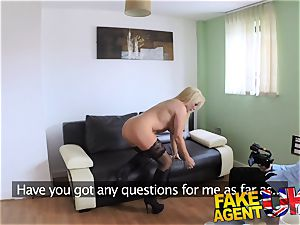 FakeAgentUK wonderful ash-blonde mummy gets a fine plowing