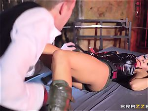 Madison Ivy is speared by a ginormous spunk-pump