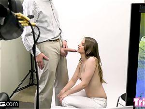 Jillian Janson gets tricked into fuckin' on a audition