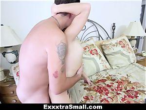 ExxxtraSmall - Deep inside Megan Rain's warm poon!