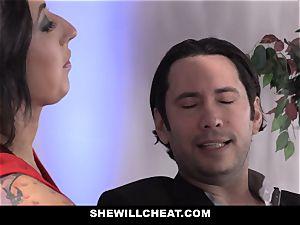 SheWillCheat - breezy wife ass boinked by friend