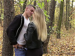 Russian couple has a sultry afternoon enjoyment