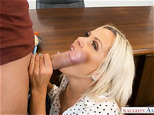 lecturer Nina Elle romped in the classroom