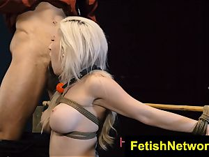 HostelXXX Cristi Ann sexual abasement