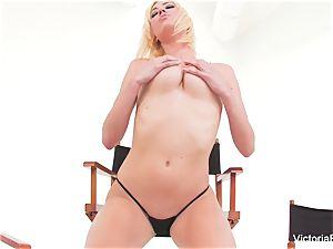 super-sexy honey Victoria white demonstrates off her astounding figure