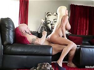 big-boobed blondie hotty Gets Deep man rod