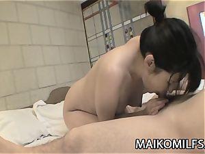Keiko Fukagawa: sexy Japan mother Facialized A lot
