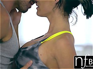 NF buxom - Peta Jensen's shivering ejaculation nail