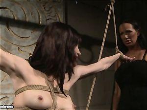 Mandy Bright warm mega-slut truss a super-hot babe naked assets