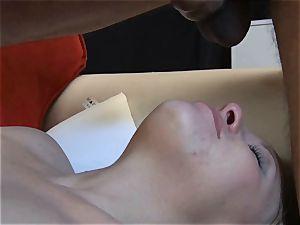 smallish blond hotwife displays her dt and inhale