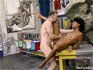 black lady plowed prettily