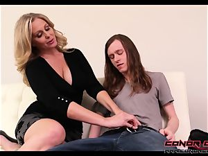 ConorCoxxx- Let's have fun while dad's away with Julia Ann